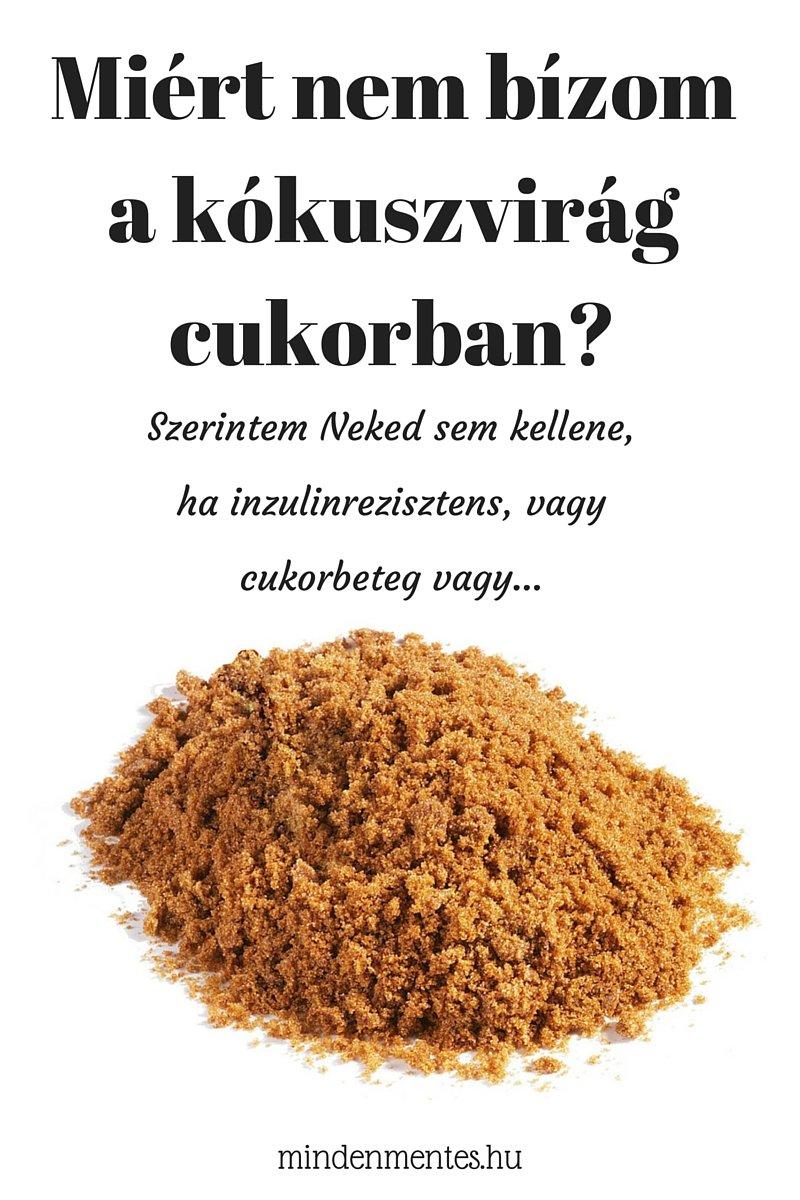 Kókuszvirág cukor IR-ben, cukorbetegeknek NEM! #IR #PCOS |mindenmentes.hu