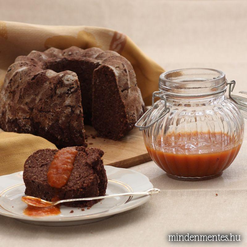Gluténmentes vegán kakaós kuglóf