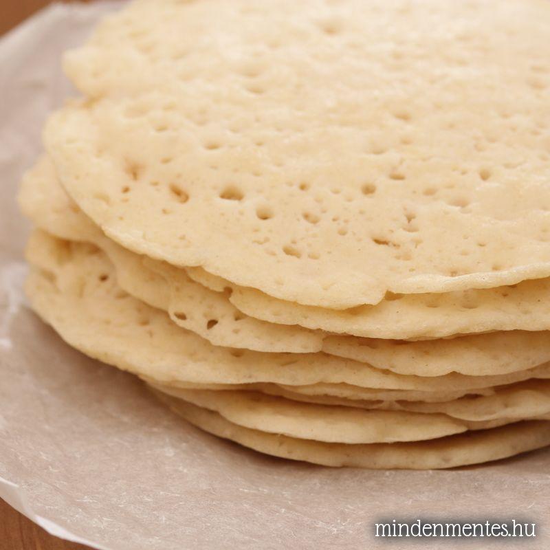 Appam – indiai kókusztejes lepény (glutén-, tejtermék-, tojásmentes, vegán palacsinta)