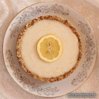 Blogszülinapi visszatekintés – sütés nélküli citromtortával