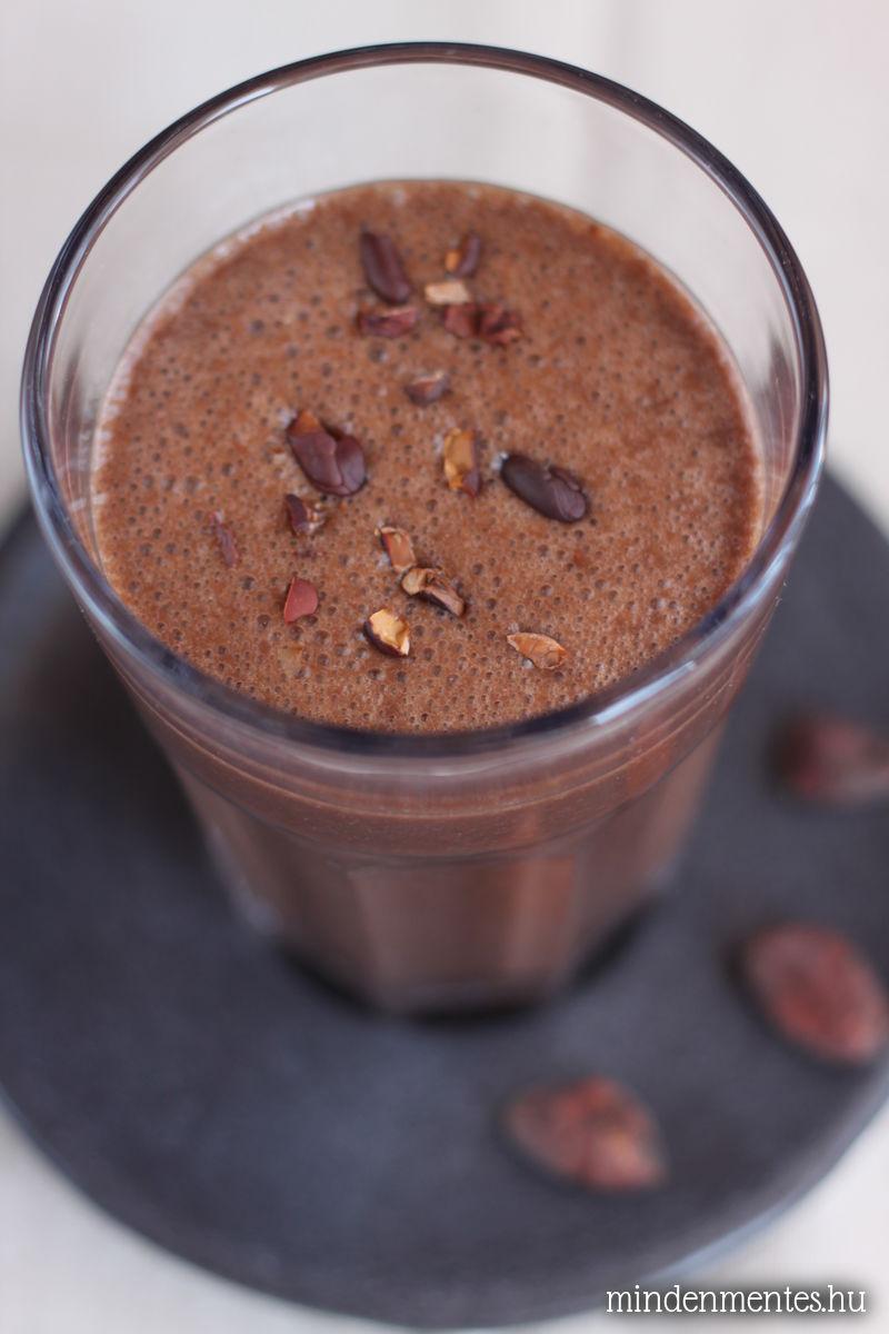 Csokiözön turmix - Vegán szakácskönyv ajánló és nyereményjáték!