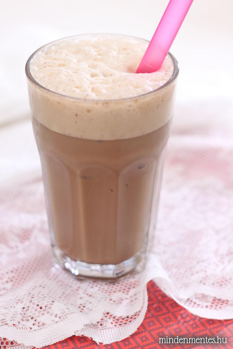 Csokis-mentás frappuccino