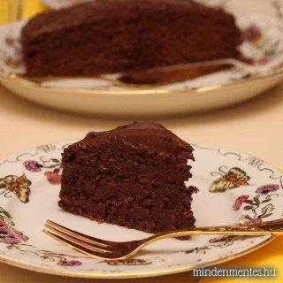 Csupa csoki torta – cukor, liszt és tejtermékek nélkül