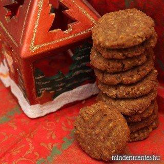 Mézeskalács ízű, mindenmentes keksz