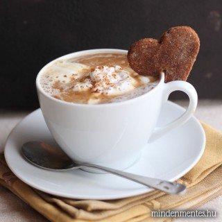 Mézeskalács latte – növényi tej alap, házilag