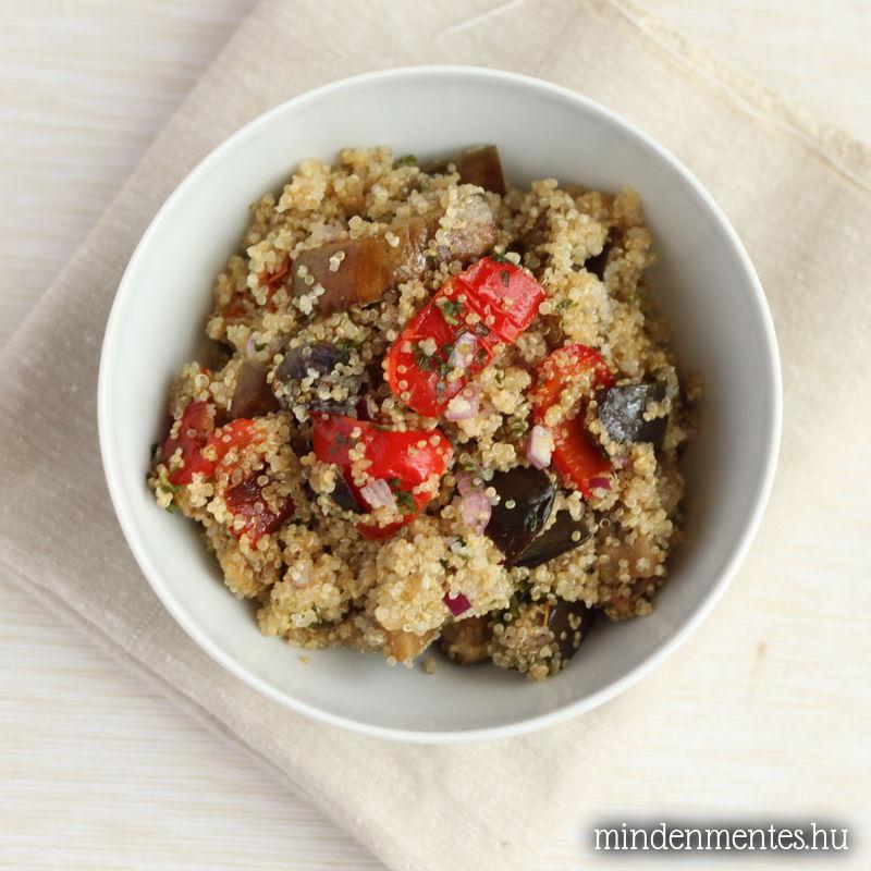 Quinoa pirított zöldségekkel