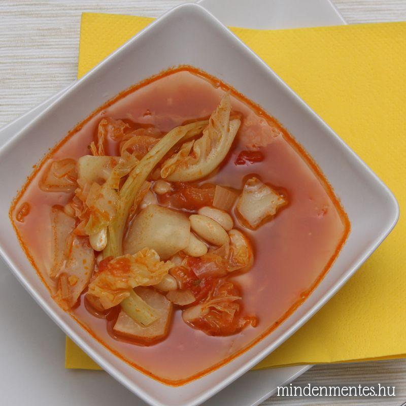 Ribollita - toszkán zöldségleves