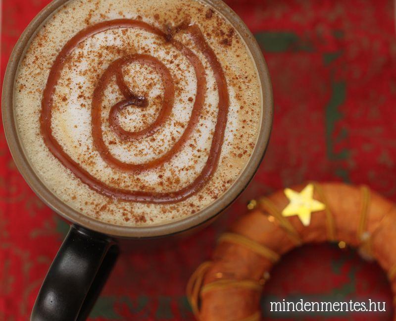 Sós-fűszeres karamell latte