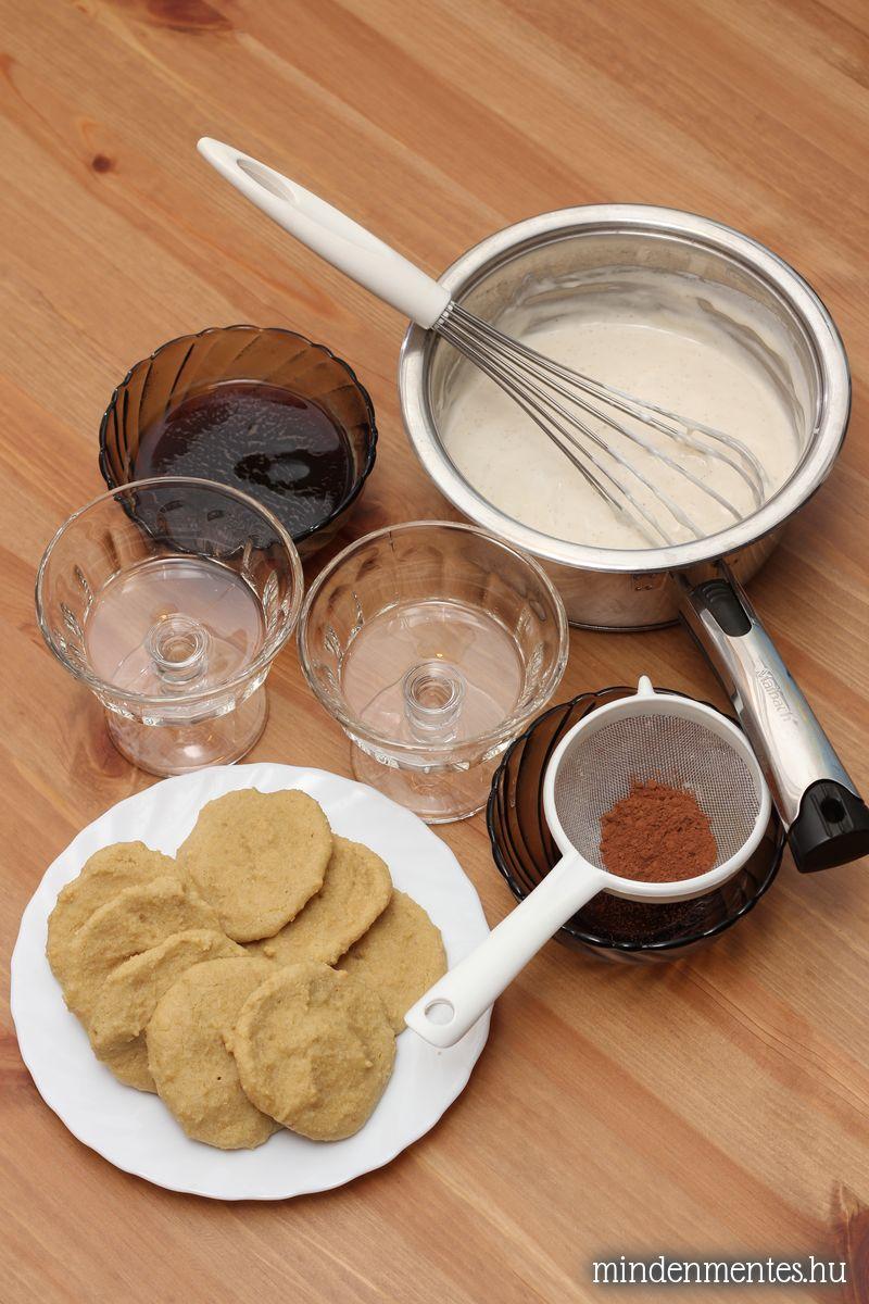 Tiramisu mindenmentesen (cukor-, glutén-, tejtermék-, tojásmentes, vegán)