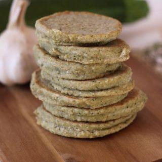 Cukkinis tócsni (gluténmentes, vegán recept) +lisztkeverék zöldséges lepényekhez