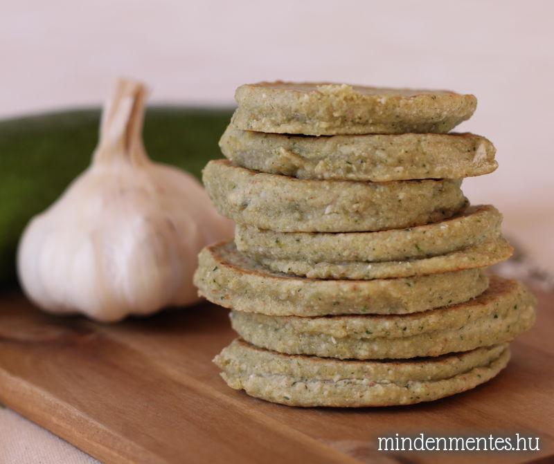 Cukkini tócsni - gluténmentes, vegán recept |mindenmentes.hu