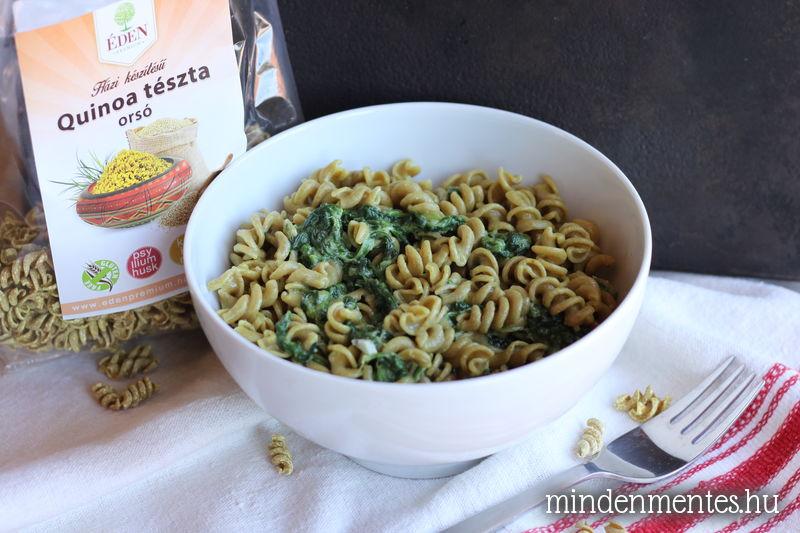 Gluténmentes quinoa tészta