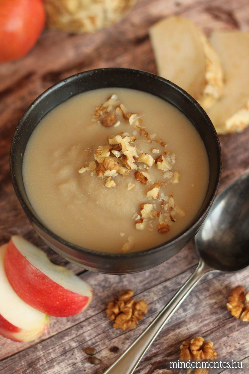 Zellerkrémleves - IR-barát, gluténmentes, tejmentes, vegán recept |mindenmentes.hu