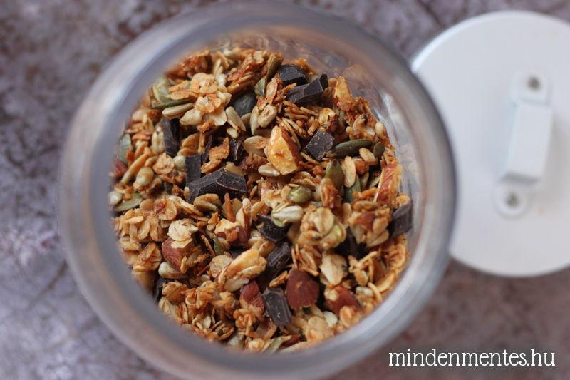 Granola kehely (gluténmentes, tejmentes, vegán) |mindenmentes.hu