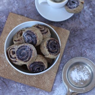 Gluténmentes kakaós csiga (IR-barát, vegán)