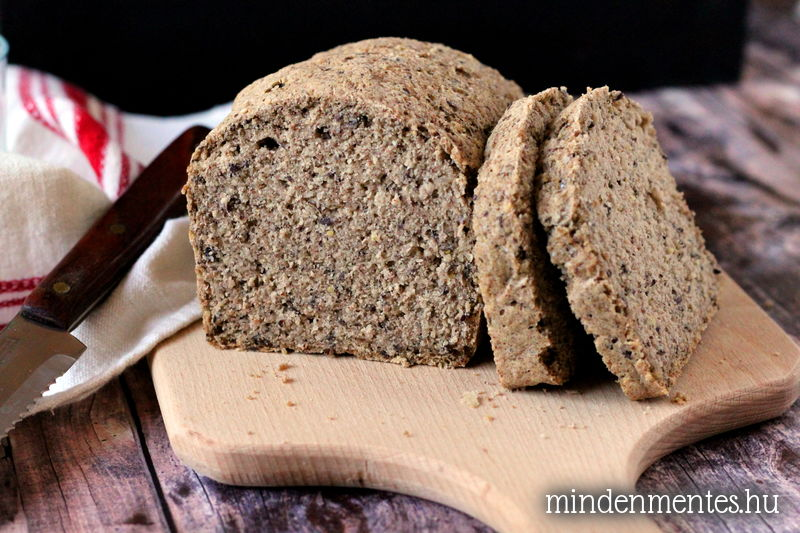Mindenmentes cirokos cipó - élesztőmentes, gluténmentes házi kenyér |mindenmentes.hu