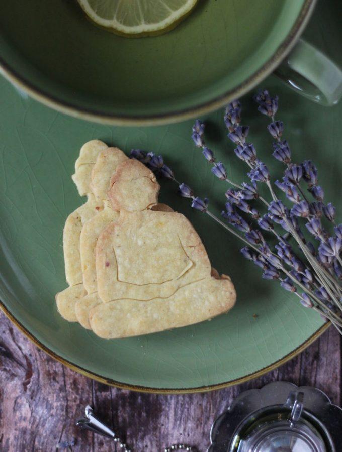 Levendulás, citromos gluténmentes keksz (IR-barát, vegán)  mindenmentes.hu