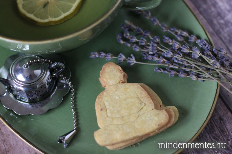 Levendulás, citromos gluténmentes keksz (IR-barát, vegán) |mindenmentes.hu