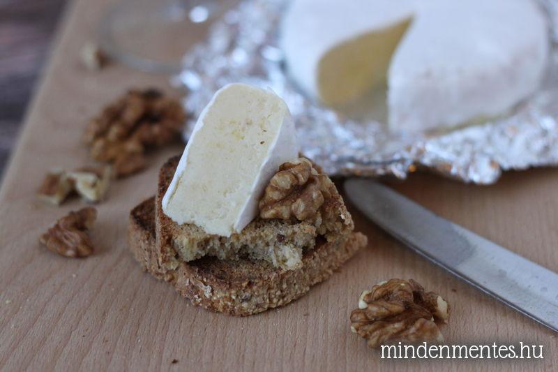 Mindenmentes: tejmentes, vegán camembert sajt olajos magvak nélkül |mindenmentes.hu