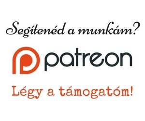 Patreon támogatói oldal