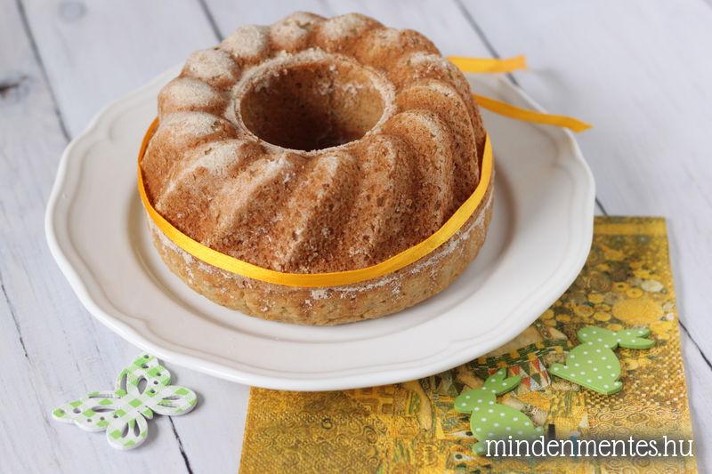 Citromos gluténmentes kuglóf (cukormentes, vegán) |mindenmentes.hu