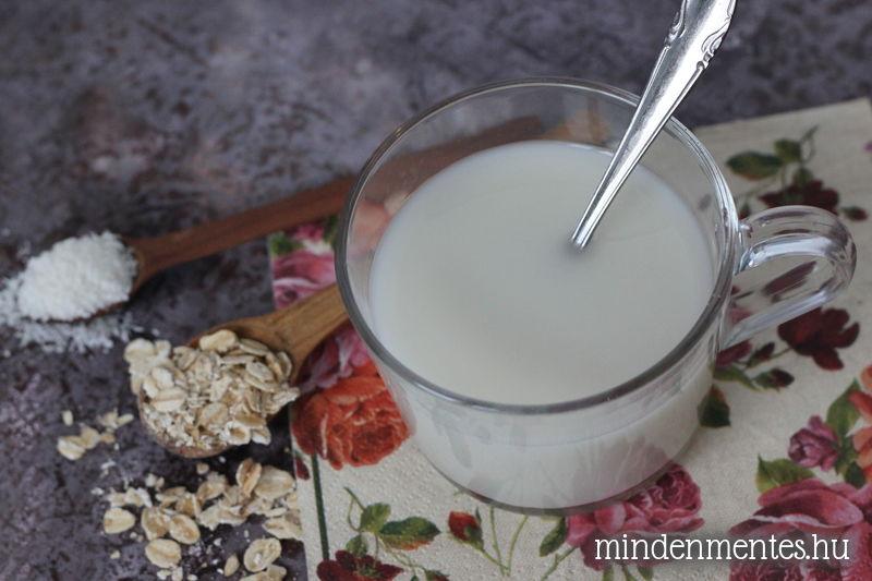 Kókuszos zabtej házilag - #tejmentes, #vegán recept |mindenmentes.hu