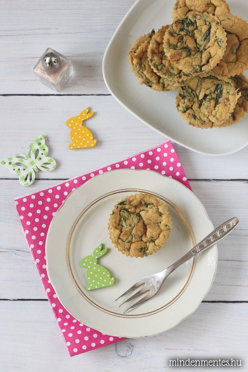 Vegán omlett muffin #tojásmentes gluténmentes #vegán  mindenmentes.hu