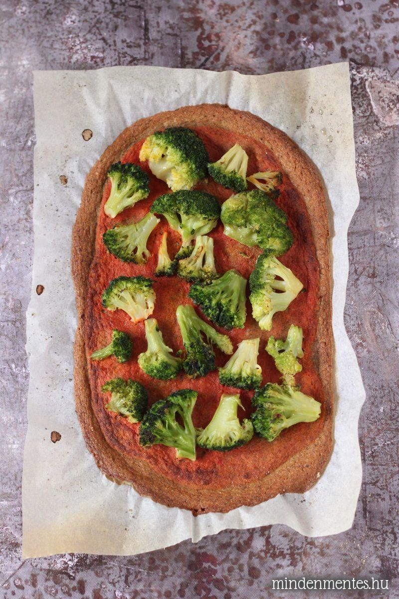 Gluténmentes pizza (lisztmentes, vegán) |mindenmentes.hu