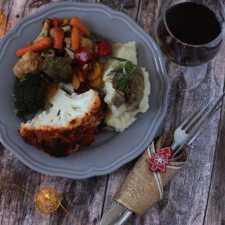 Mindenmentes karácsonyi menü (gluténmentes, vegán, IR-barát)