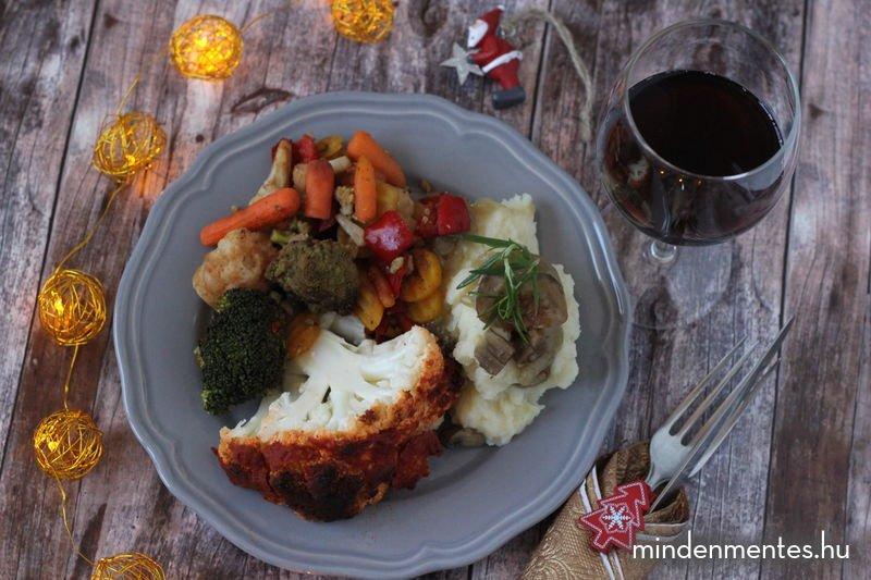 Mindenmentes karácsonyi menü (#gluténmentes, #vegán, IR-barát) |mindenmentes.hu