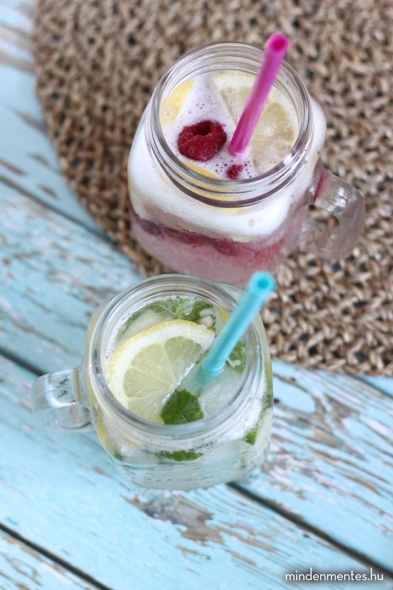 Mindenmentes limonádé - kristálytiszta ivóvízzel