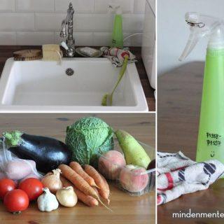 Mindenmentes konyha: vegyszer- és hulladékmentes |mindenmentes.hu