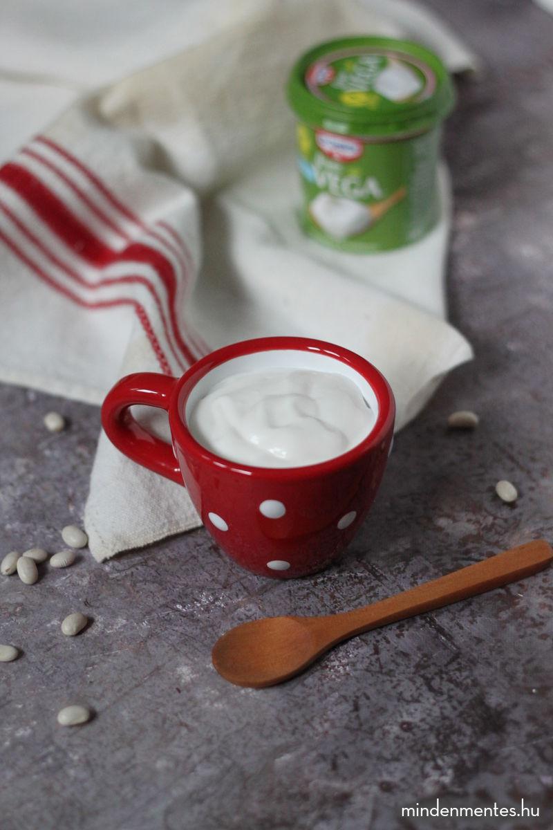 Bolti növényi tejföl házilag (vegán) |mindenmentes.hu