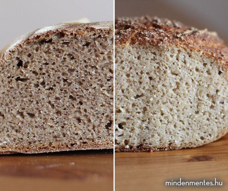 Gluténmentes kovászos kenyér recept |mindenmentes.hu