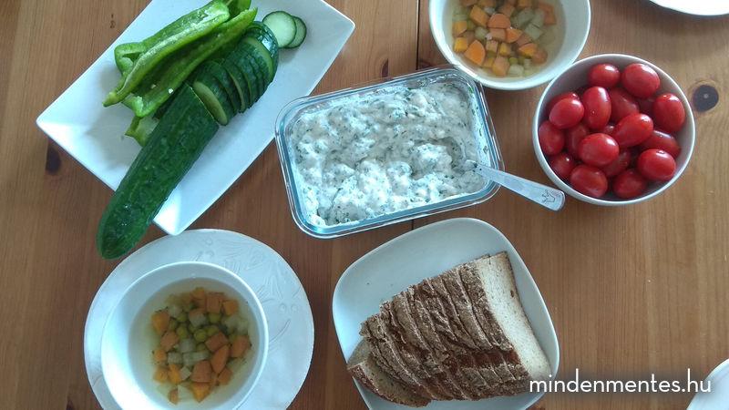 Egy nap teljes értékű növényi étrend - nyár |mindenmentes.hu