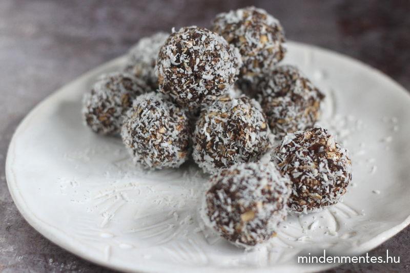 Kókuszgolyó (gluténmentes, vegán, TÉNÉ) |mindenmentes.hu