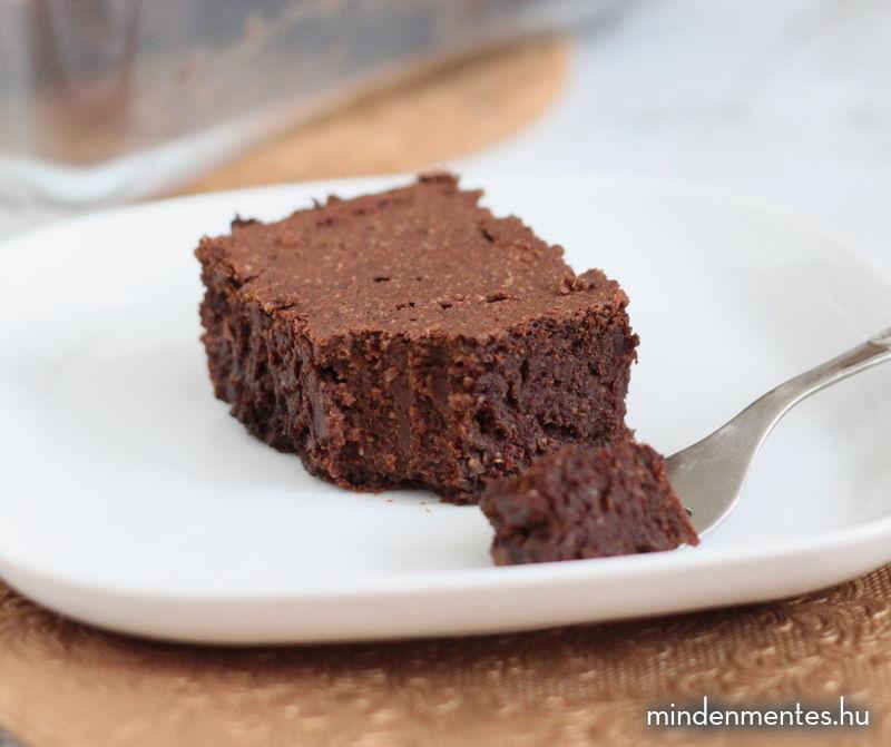 Édesburgonyás brownie (gluténmentes, vegán, TÉNÉ) |mindenmentes.hu